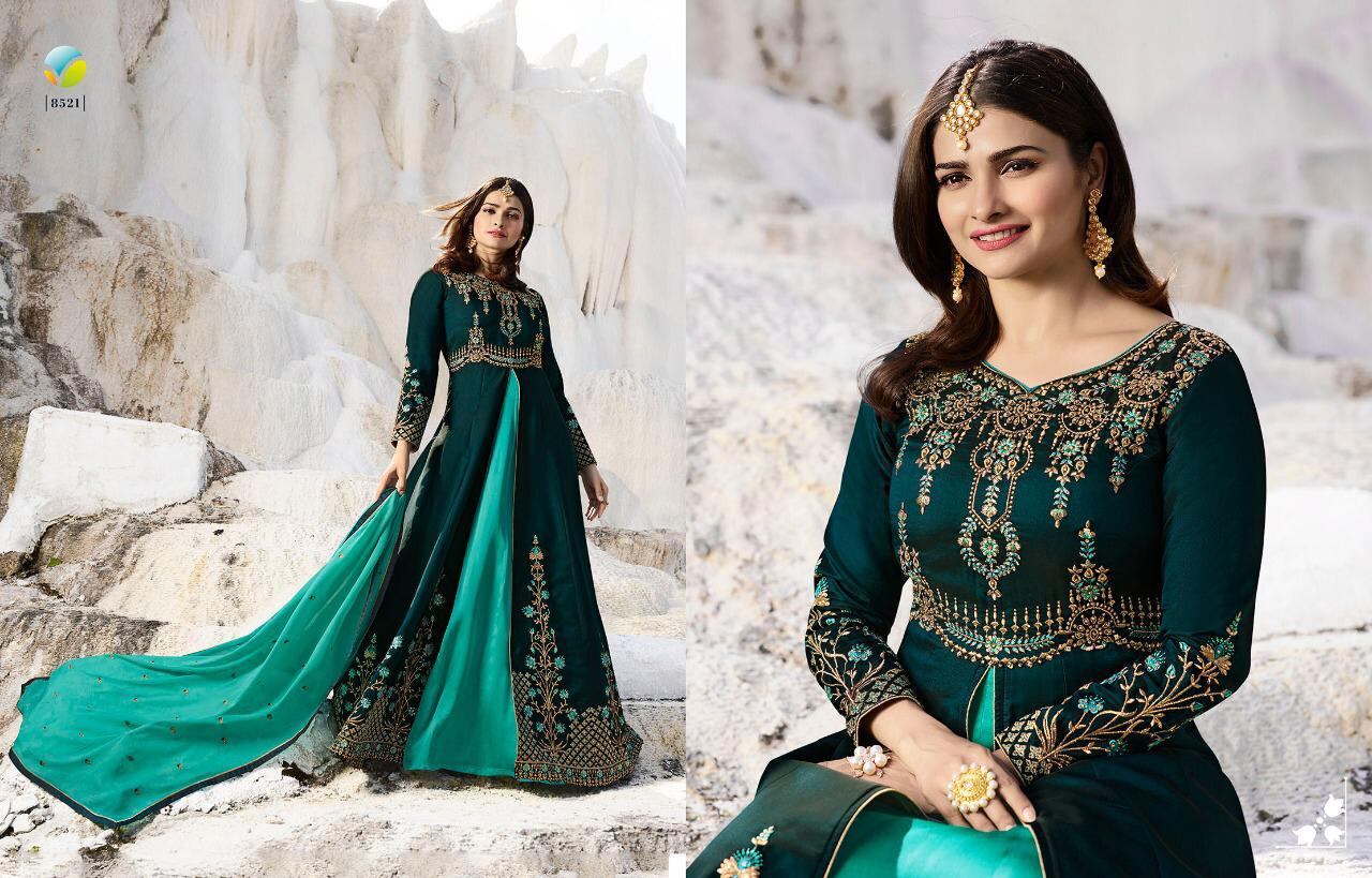 f53904637d Designer Kaseesh Supreme Suits By VINAY FASHION LLP 8521 TO 8527 New ...
