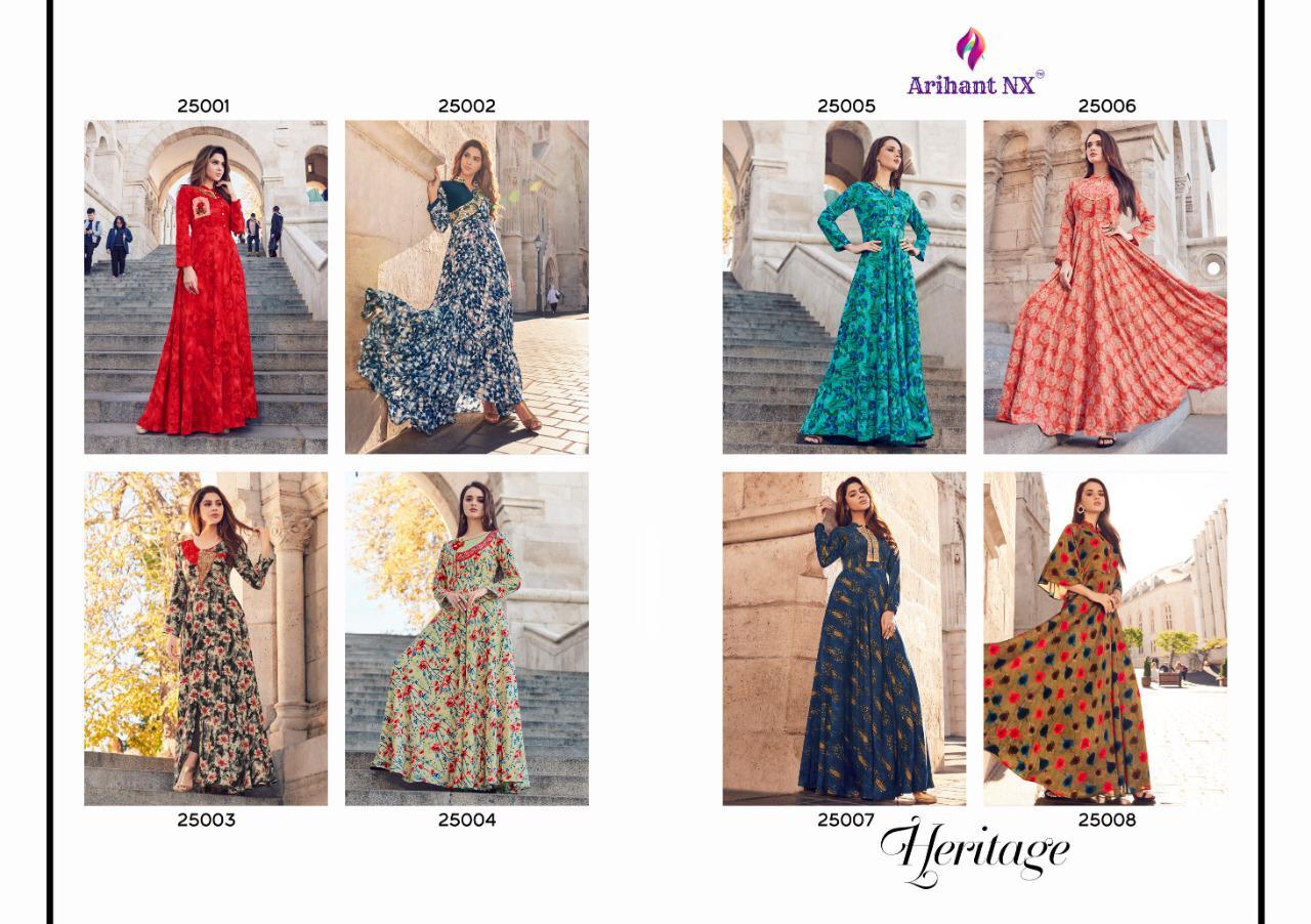 Arihant Designer Heritage 25001-25008