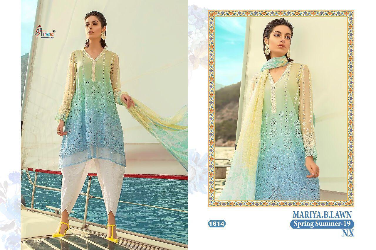 Shree Fabs Maria B Lawn Spring Summer 1614