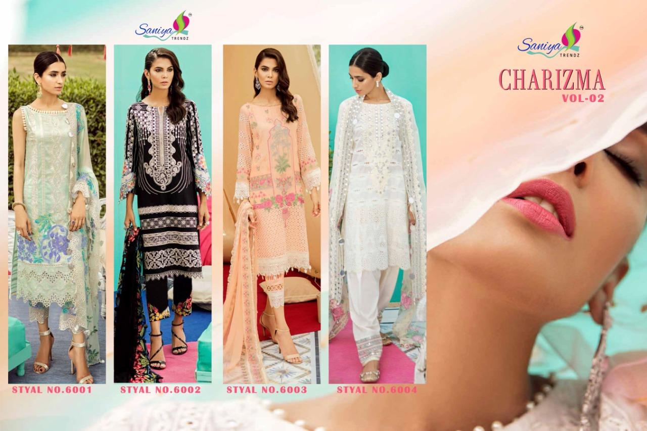 Saniya Trendz Charizma 6001-6004