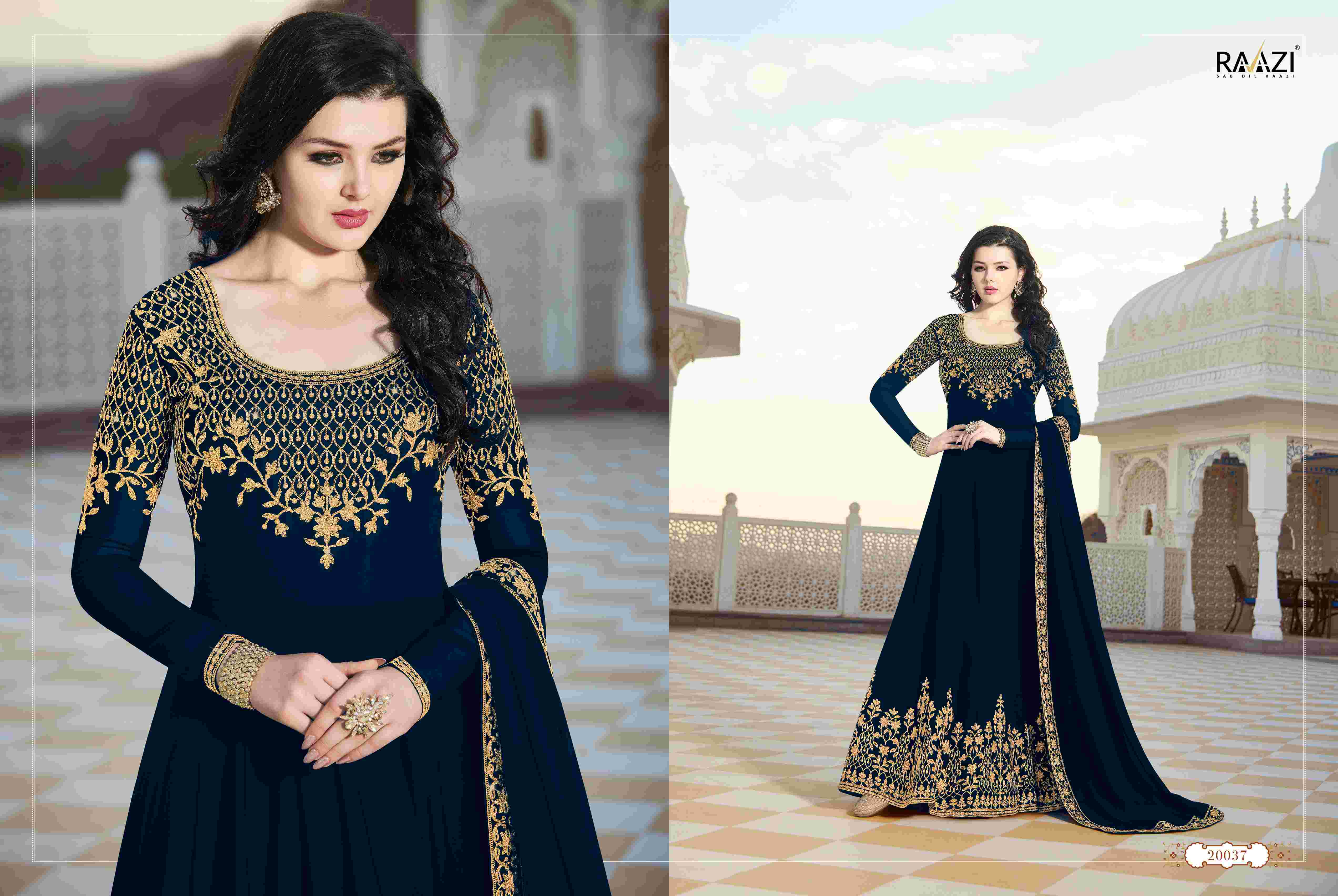 3376fed8cb Rama Fashions Raazi 20037 Colors Salwar Kameez By Rama Fashions For ...