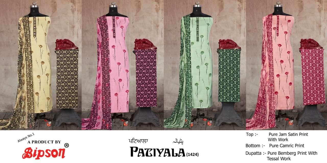 Bipson Prints Patiyala 1424 Colors
