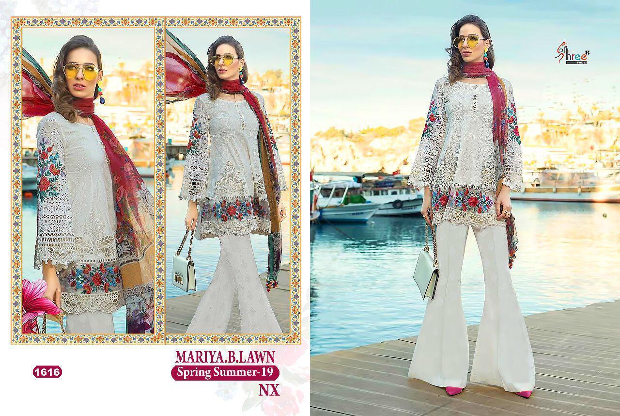Shree Fabs Maria B Lawn Spring Summer 1616