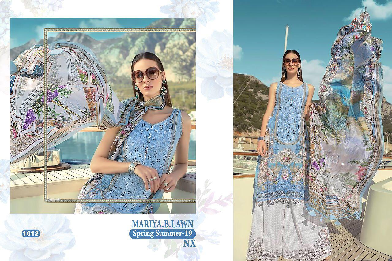 Shree Fabs Maria B Lawn Spring Summer 1612