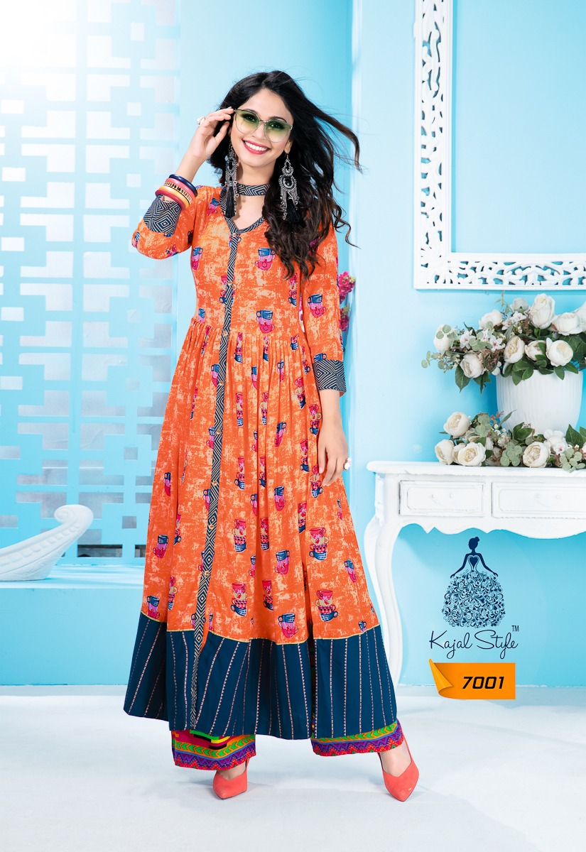 e646dfe6d Fashion Galleria Vol 7 Designer Kurti By KAJRI STYLE 7001 TO 7008 ...