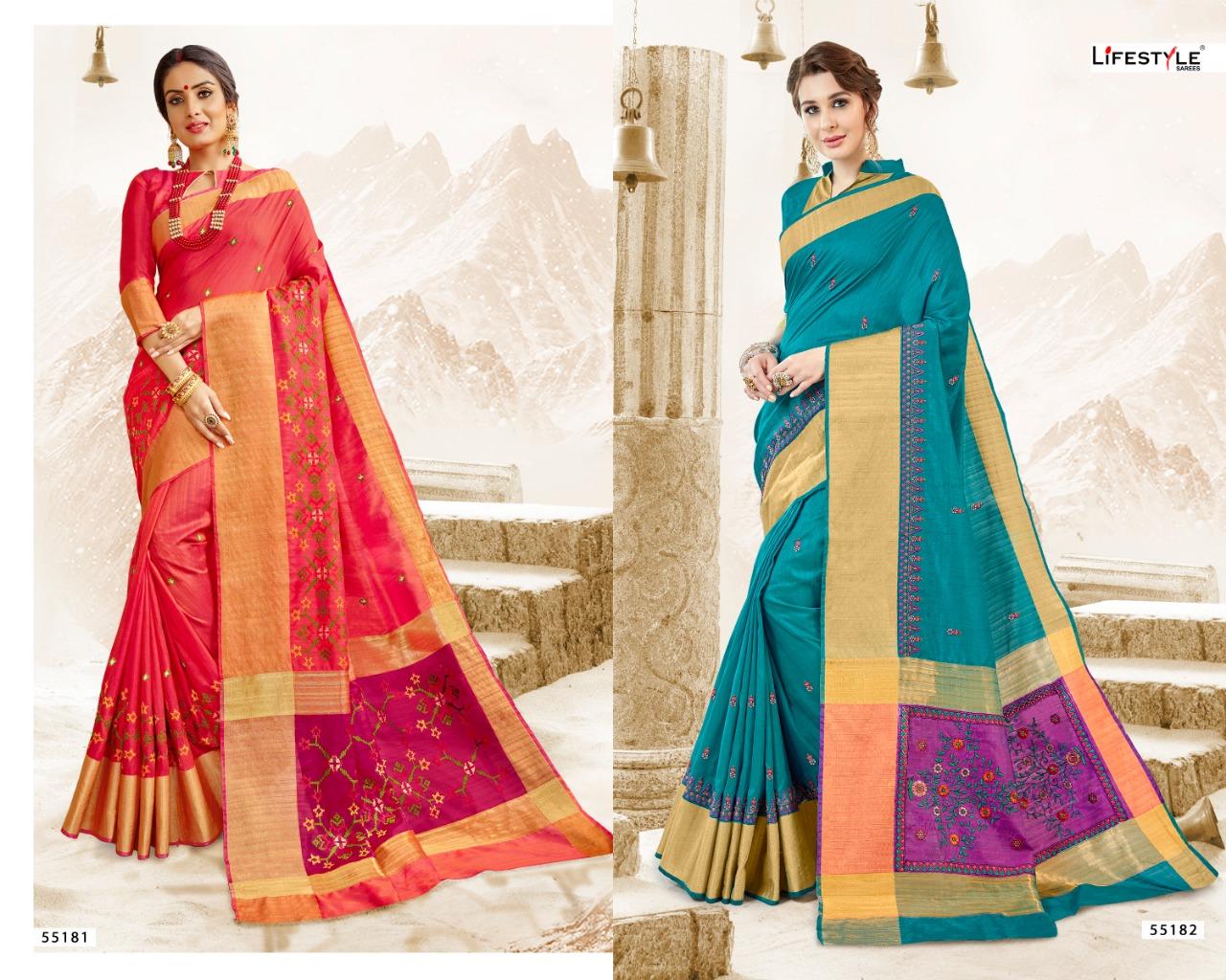 Lifestyle Garba Silk 55181 55192 Series
