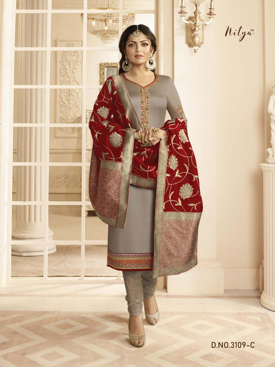 LT Fabrics Nitya 3109 C