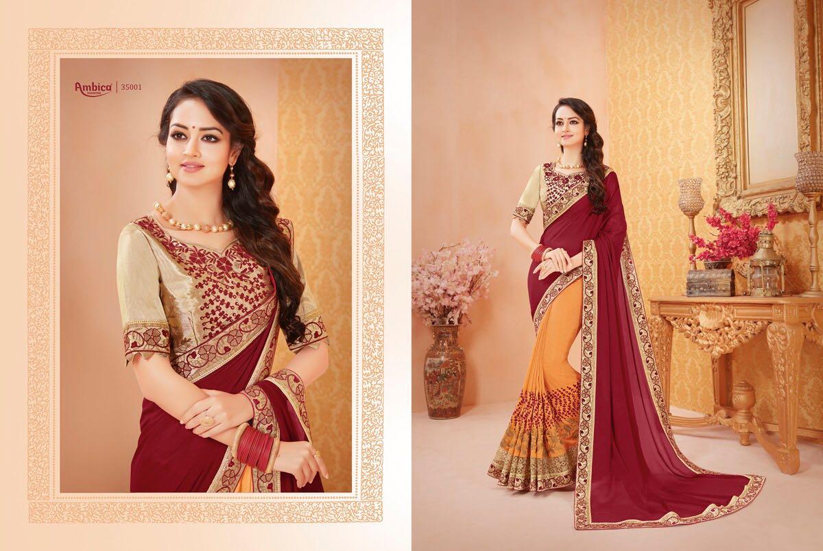 Ambica Fashion Shehzadi 35001