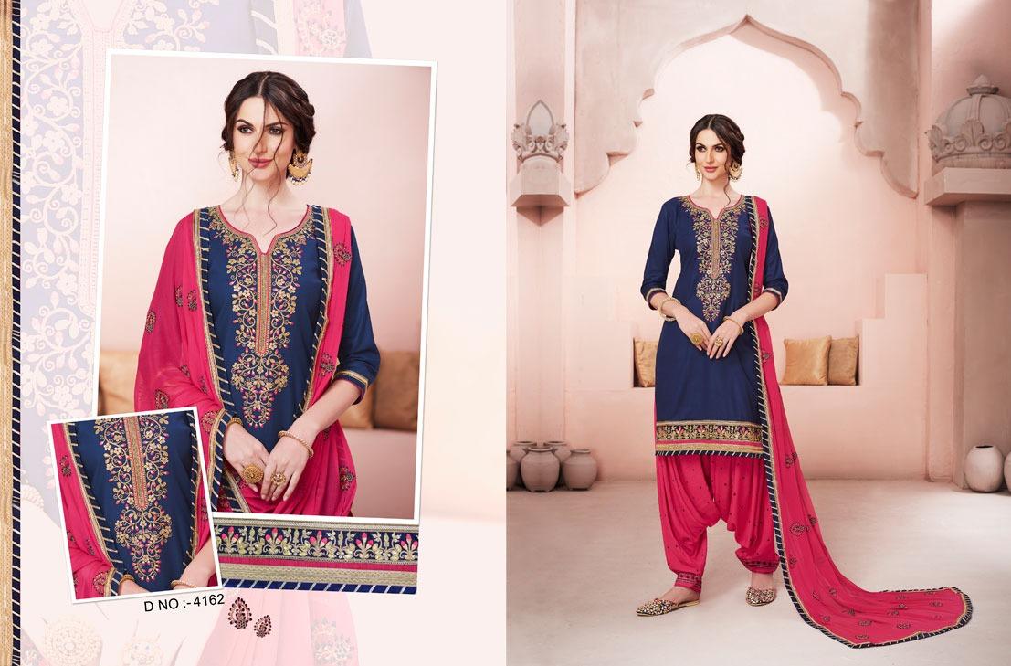 Kessi Fabrics Bridal By Patiala House 4162