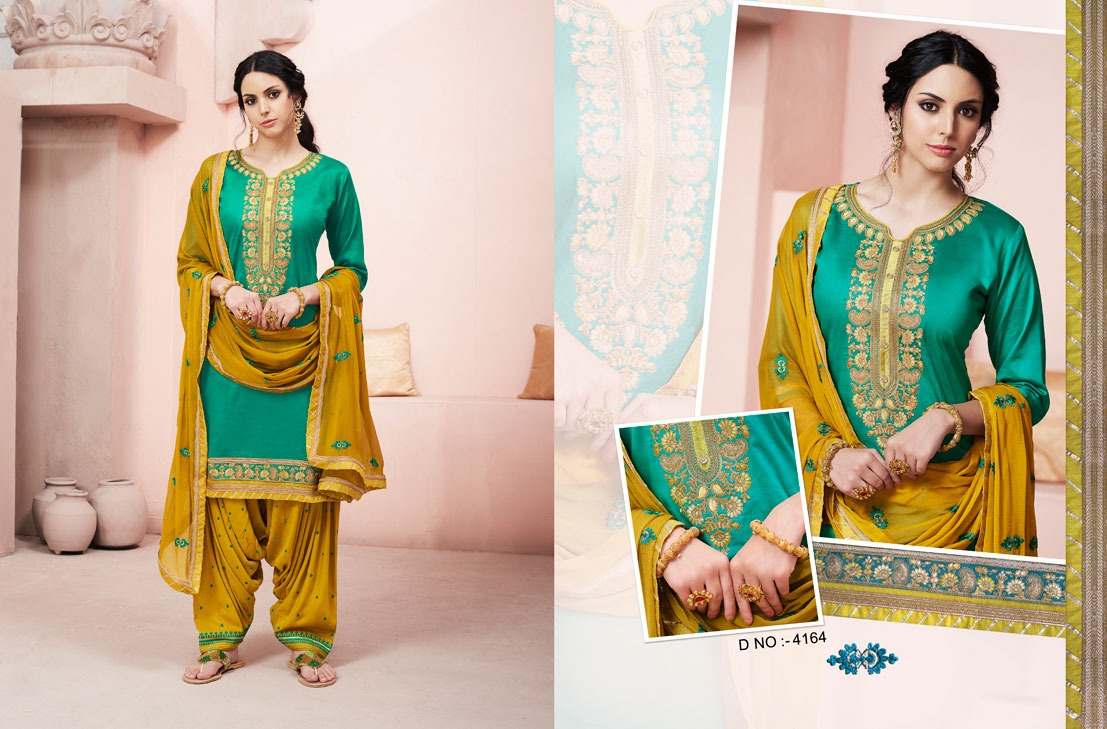 Kessi Fabrics Bridal By Patiala House 4164