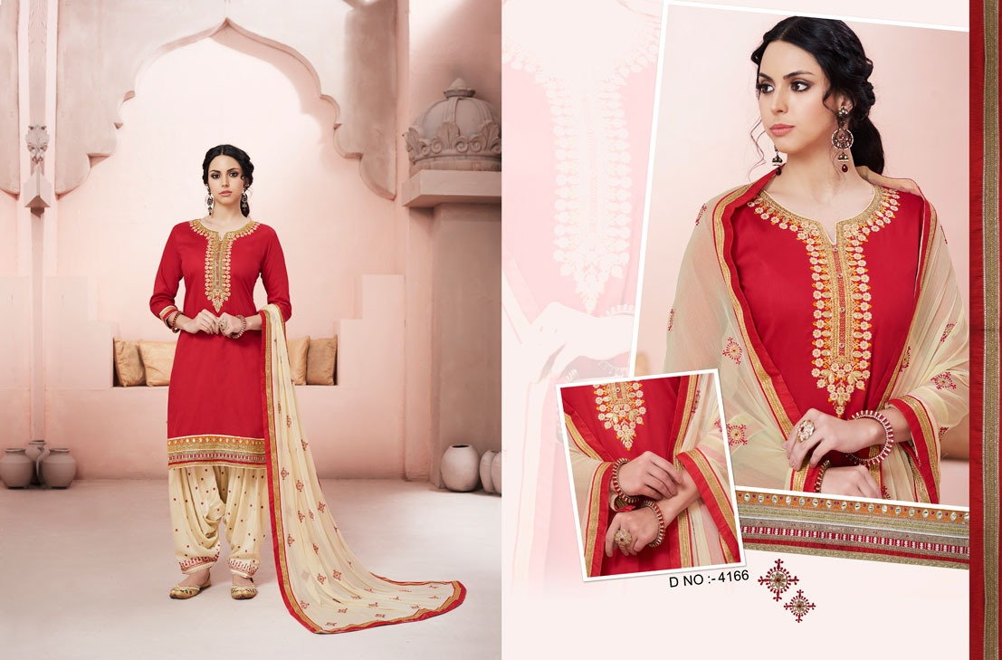 Kessi Fabrics Bridal By Patiala House 4166