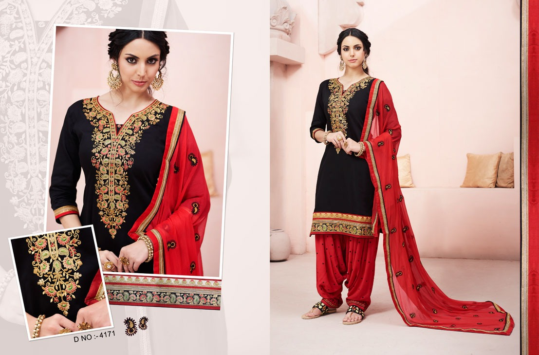 Kessi Fabrics Bridal By Patiala House 4171