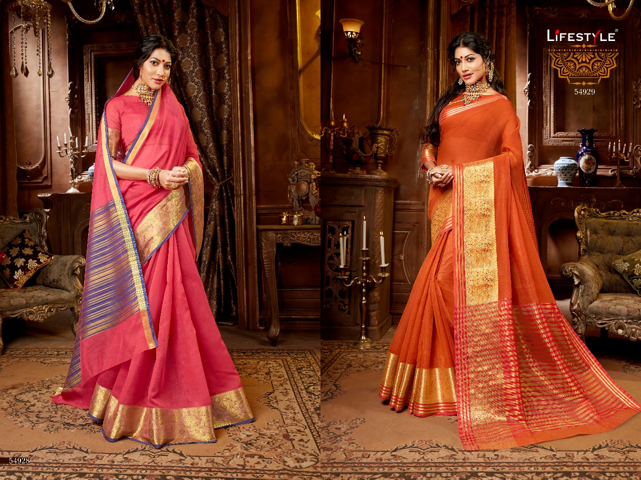 Lifestyle Khadi Silk 54928 54929