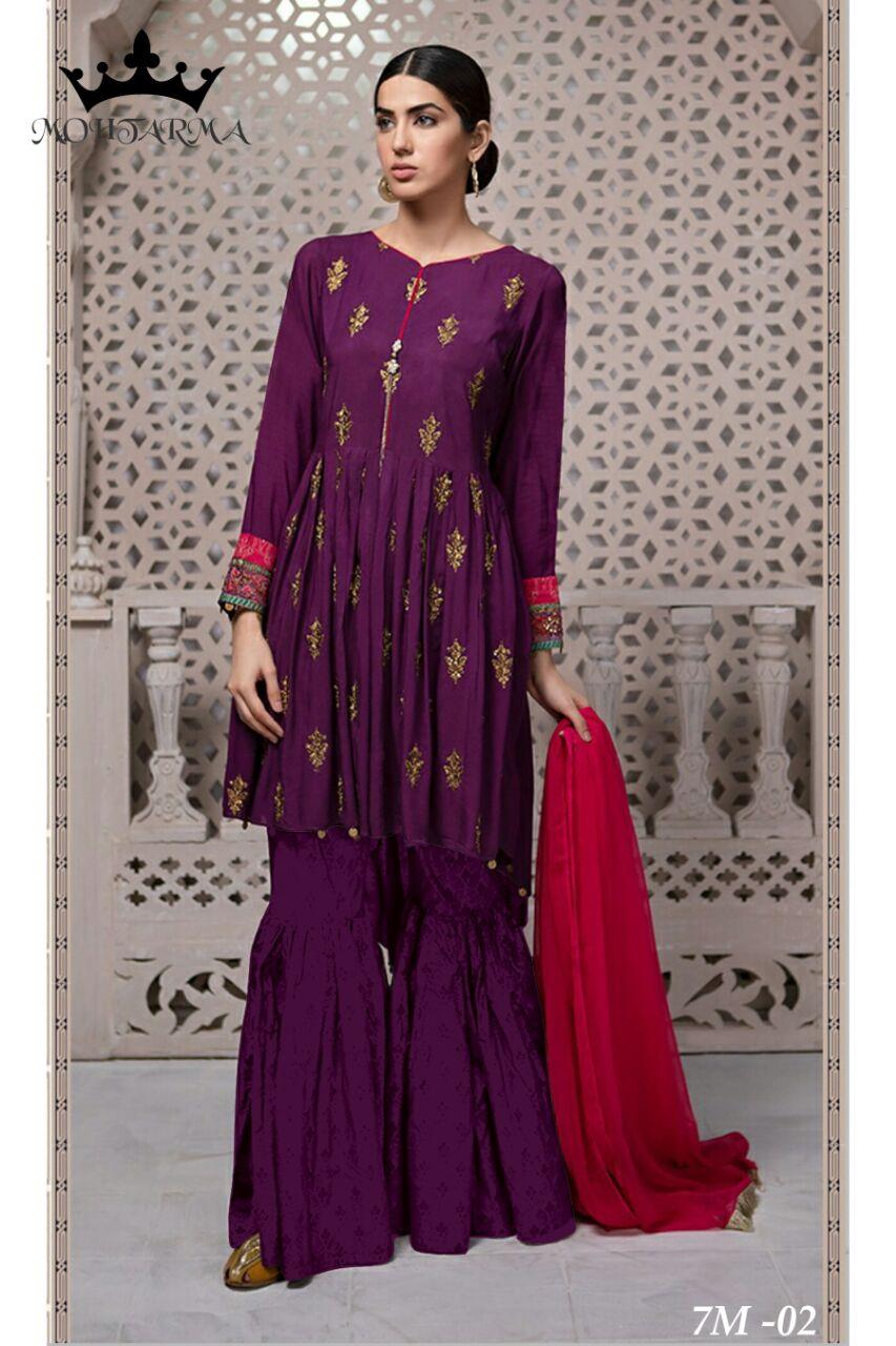 Mohtarma Fabrics Naaz 7M 02
