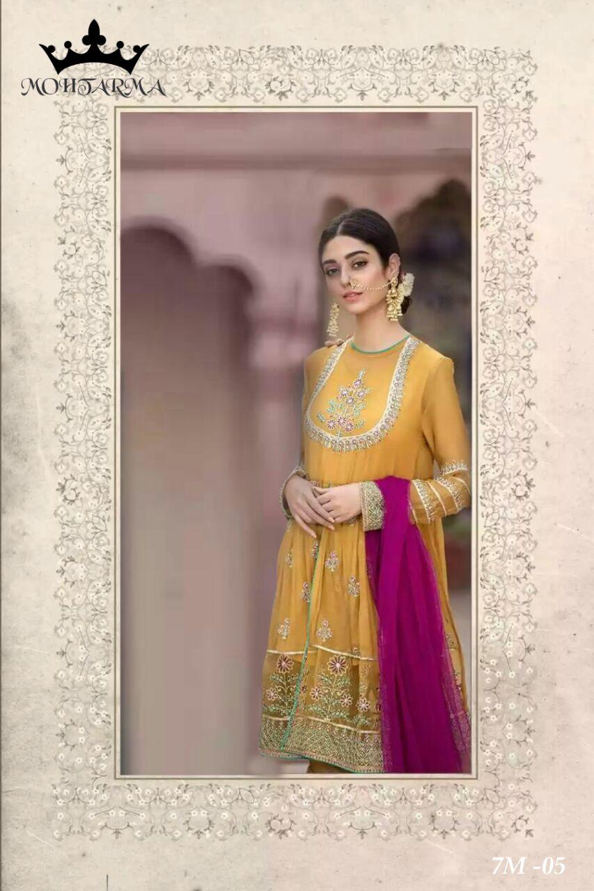 Mohtarma Fabrics Naaz 7M 05