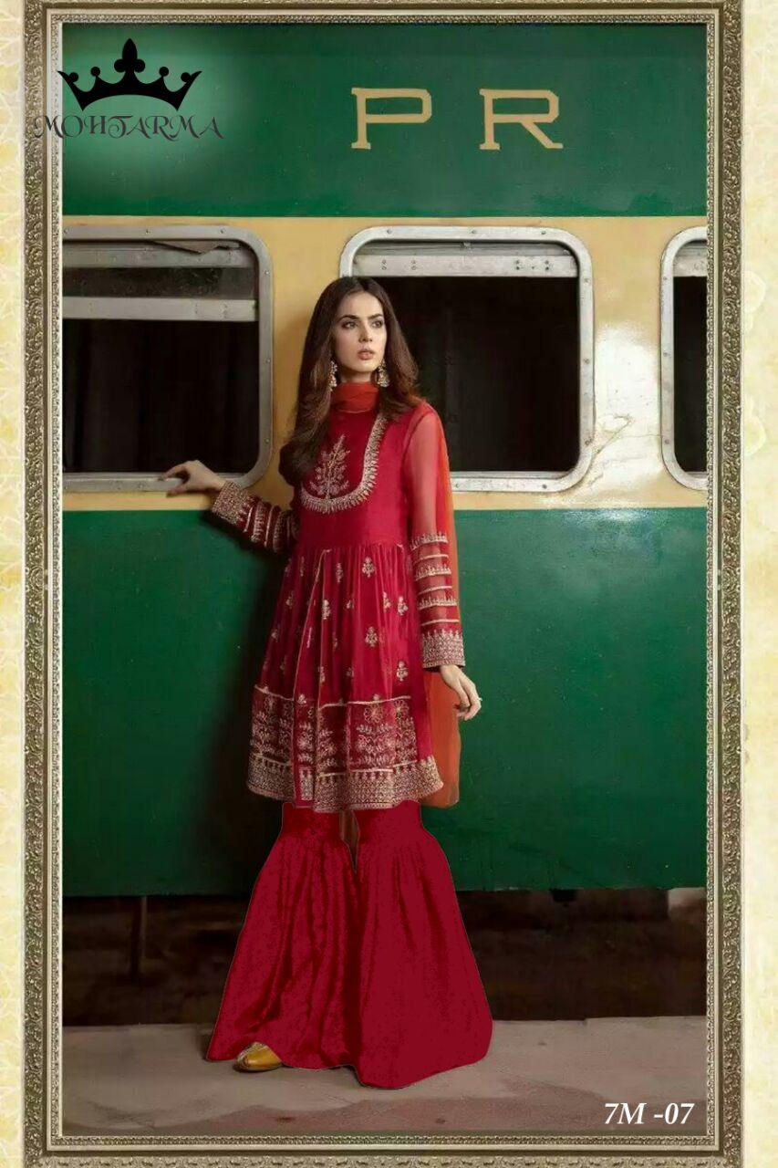 Mohtarma Fabrics Naaz 7M 06