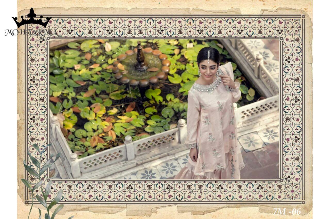 Mohtarma Fabrics Naaz 7M 07