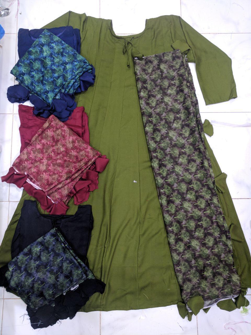 New Style Festive Wear Suits Green