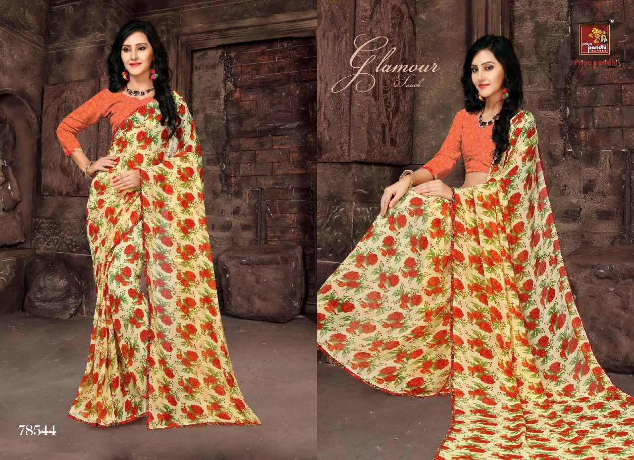 Priya Paridhi Milky 78544