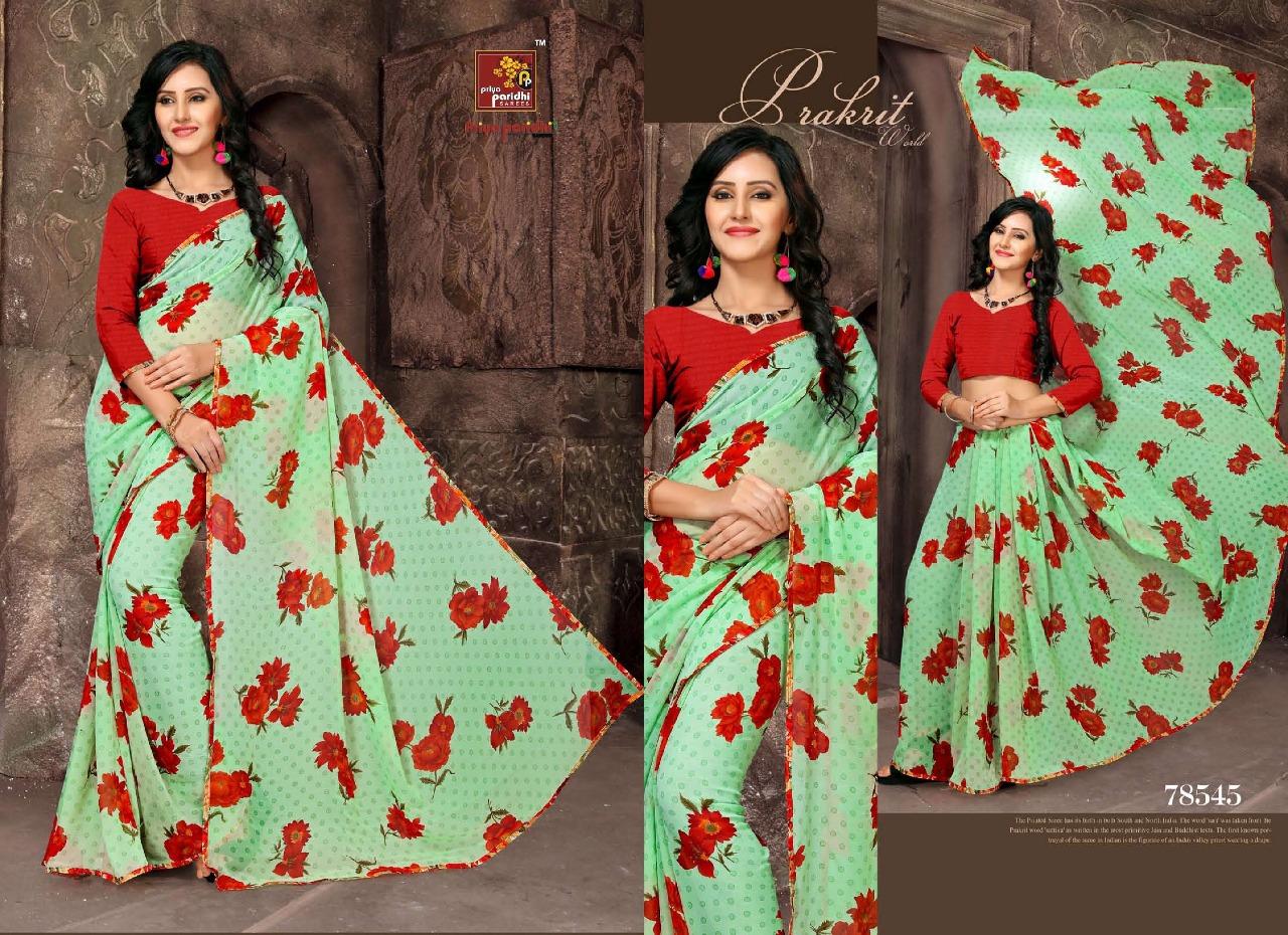 Priya Paridhi Milky 78545