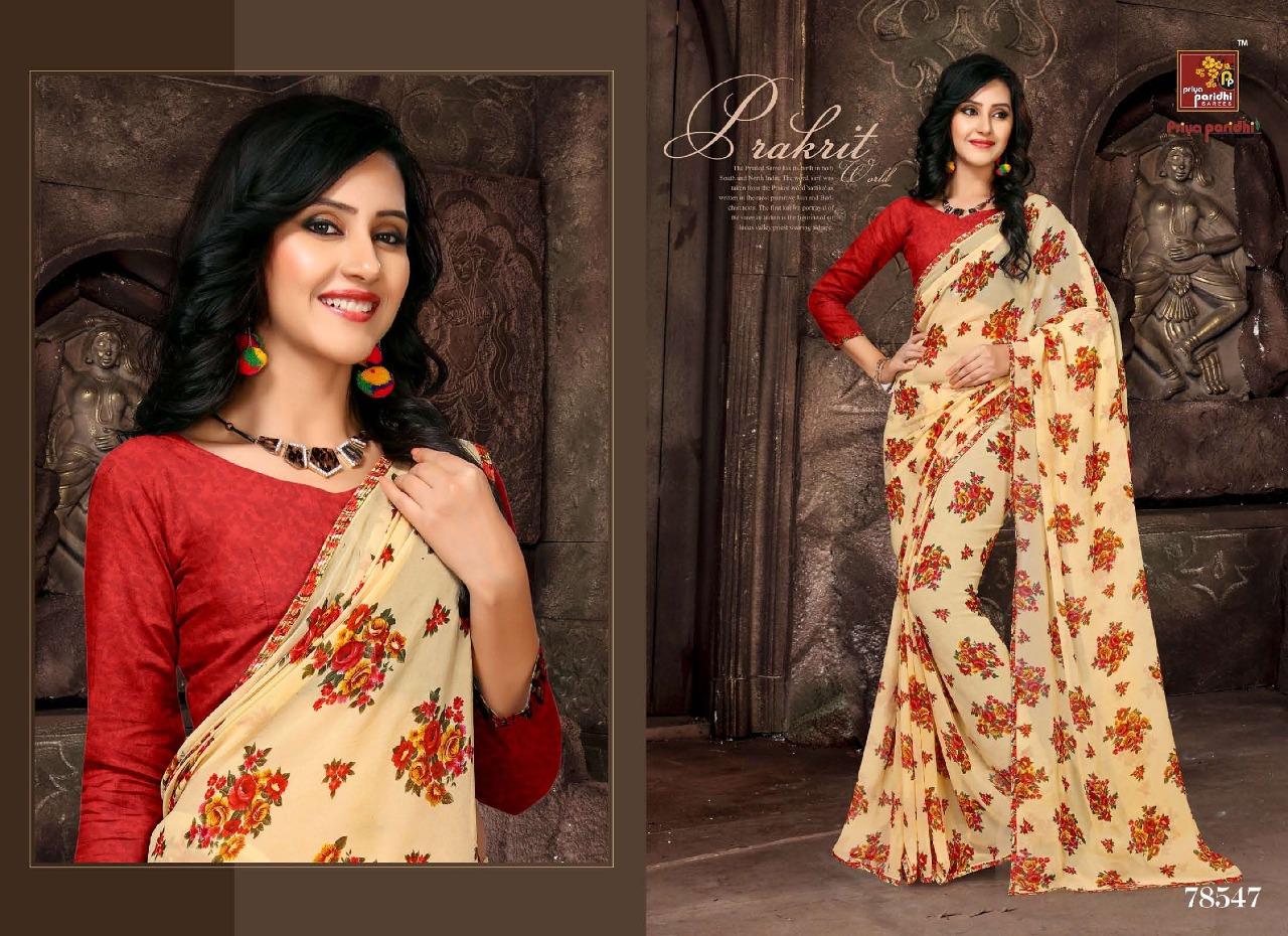 Priya Paridhi Milky 78547