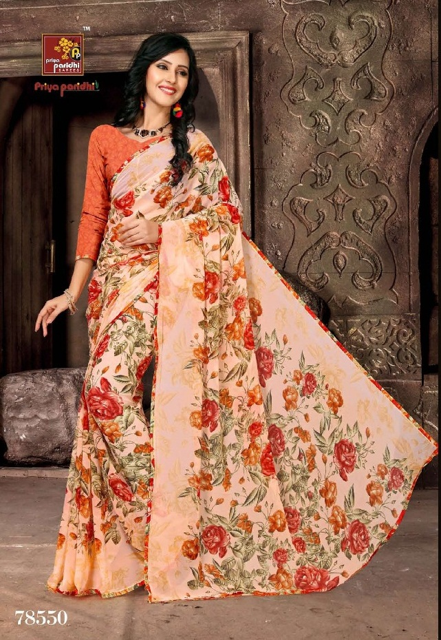 Priya Paridhi Milky 78550