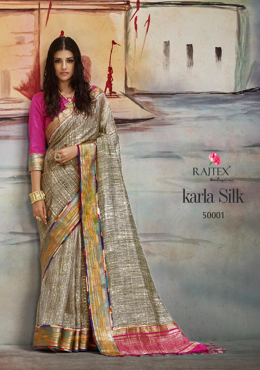Rajtex Saree Karla Silk 50001