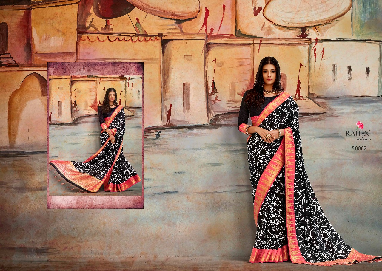 Rajtex Saree Karla Silk 50002