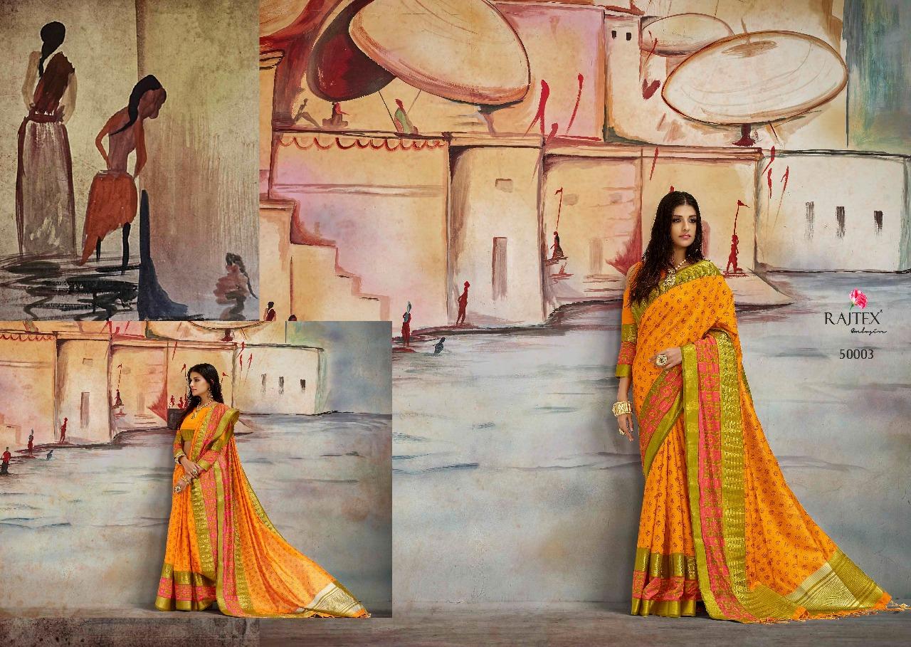 Rajtex Saree Karla Silk 50003