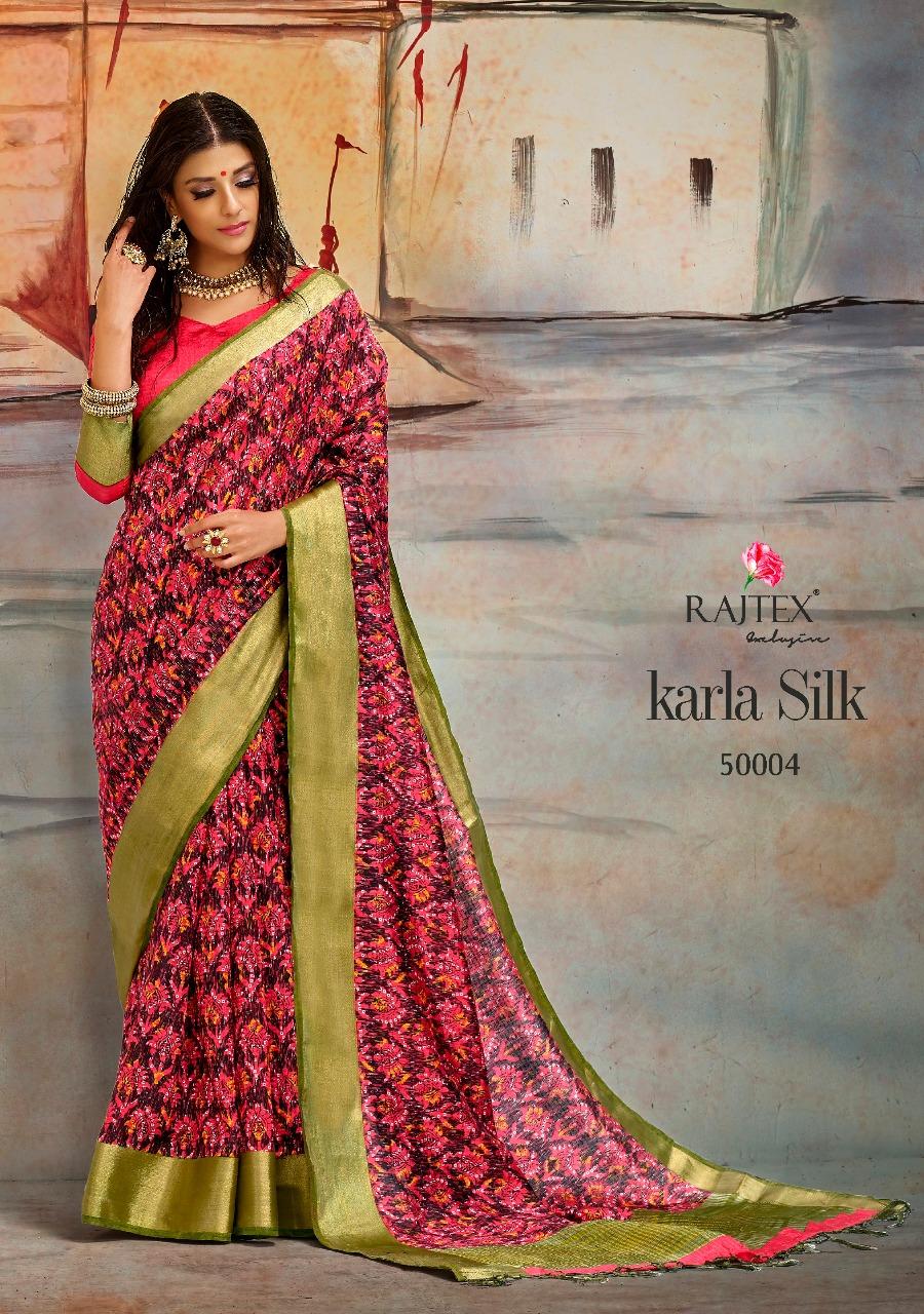 Rajtex Saree Karla Silk 50004