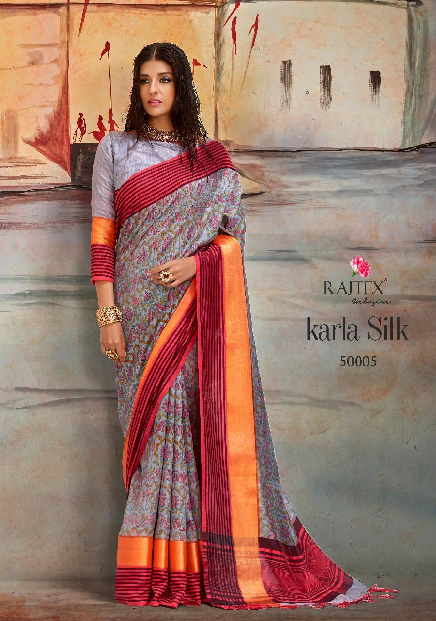 Rajtex Saree Karla Silk 50005