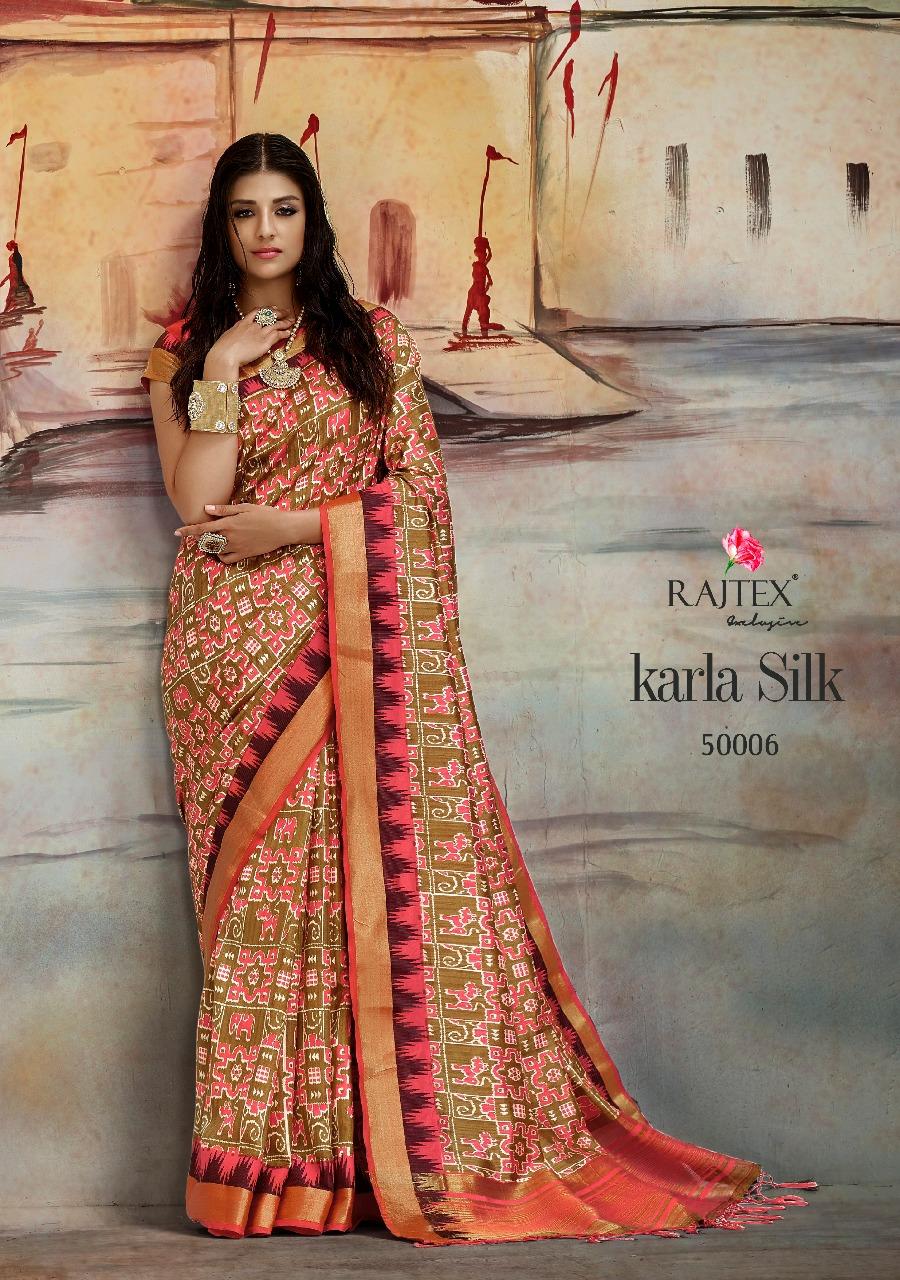 Rajtex Saree Karla Silk 50006