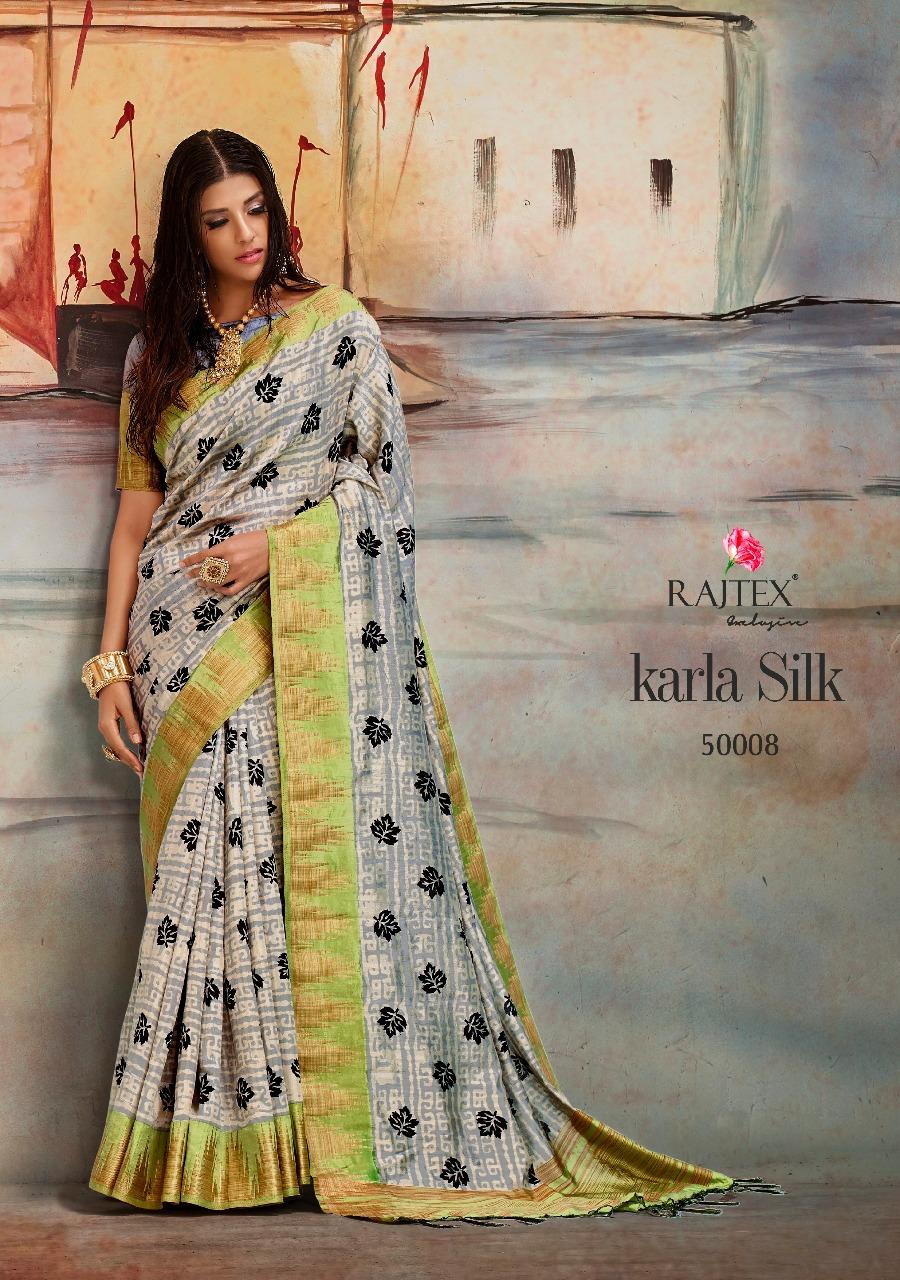 Rajtex Saree Karla Silk 50008