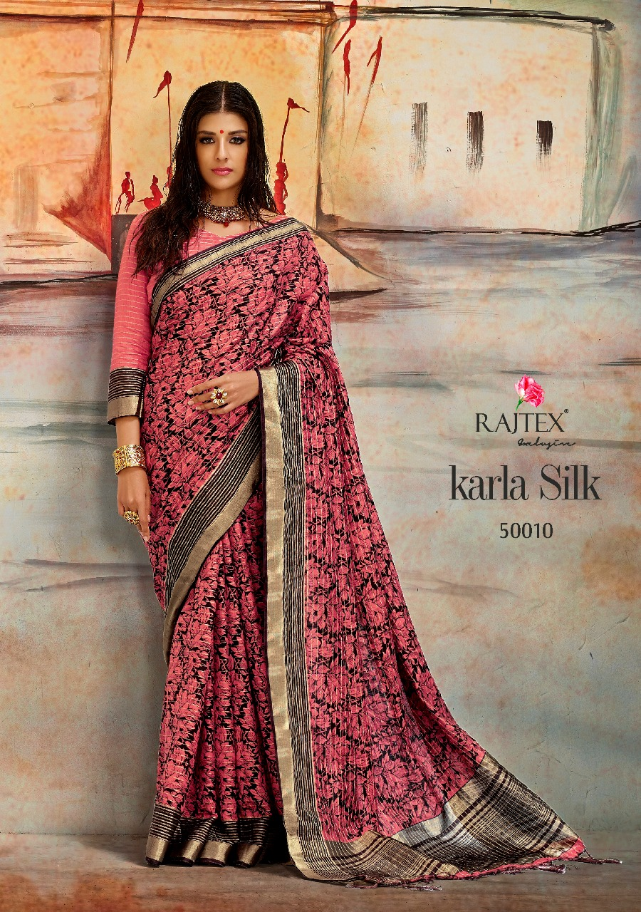 Rajtex Saree Karla Silk 50010