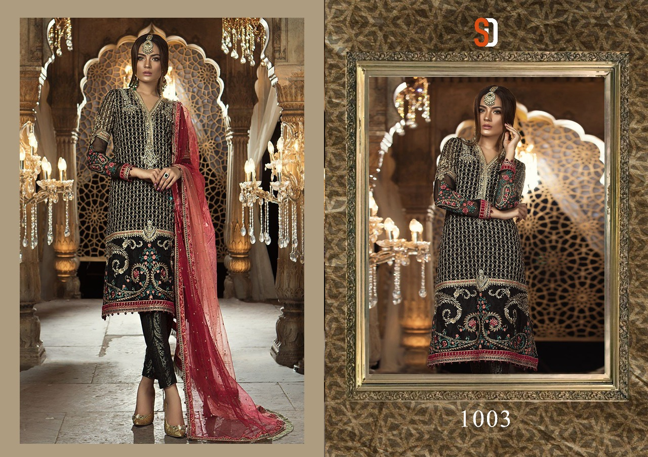 Shraddha Designer Rehana Mariya B 1003
