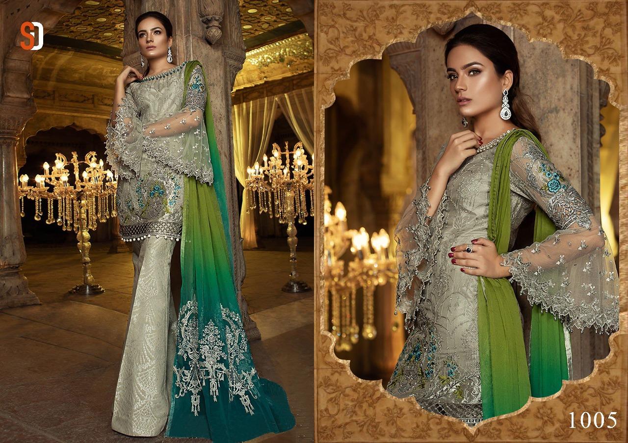 Shraddha Designer Rehana Mariya B 1005