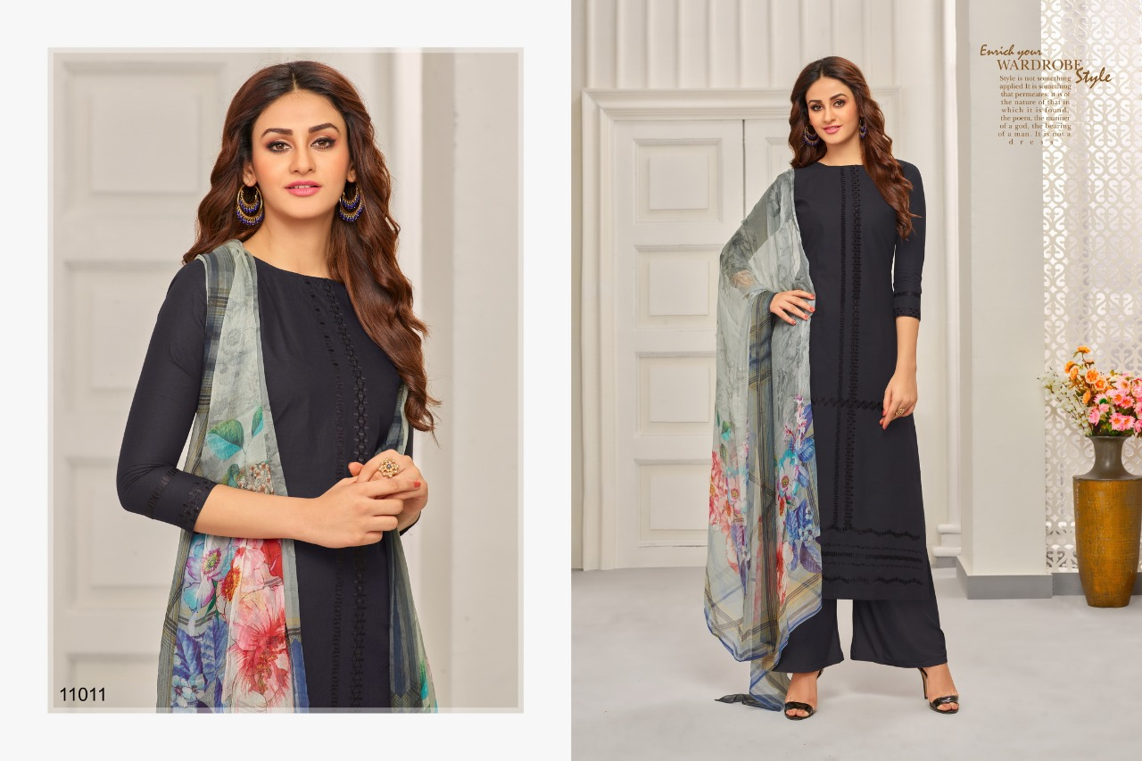 Samaira Fashion Aabida 11011