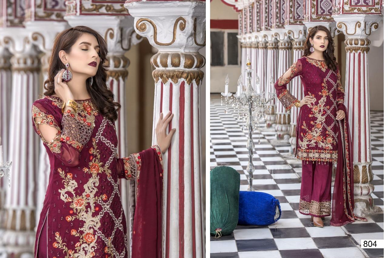 Samaira Fashion Maryam's 804