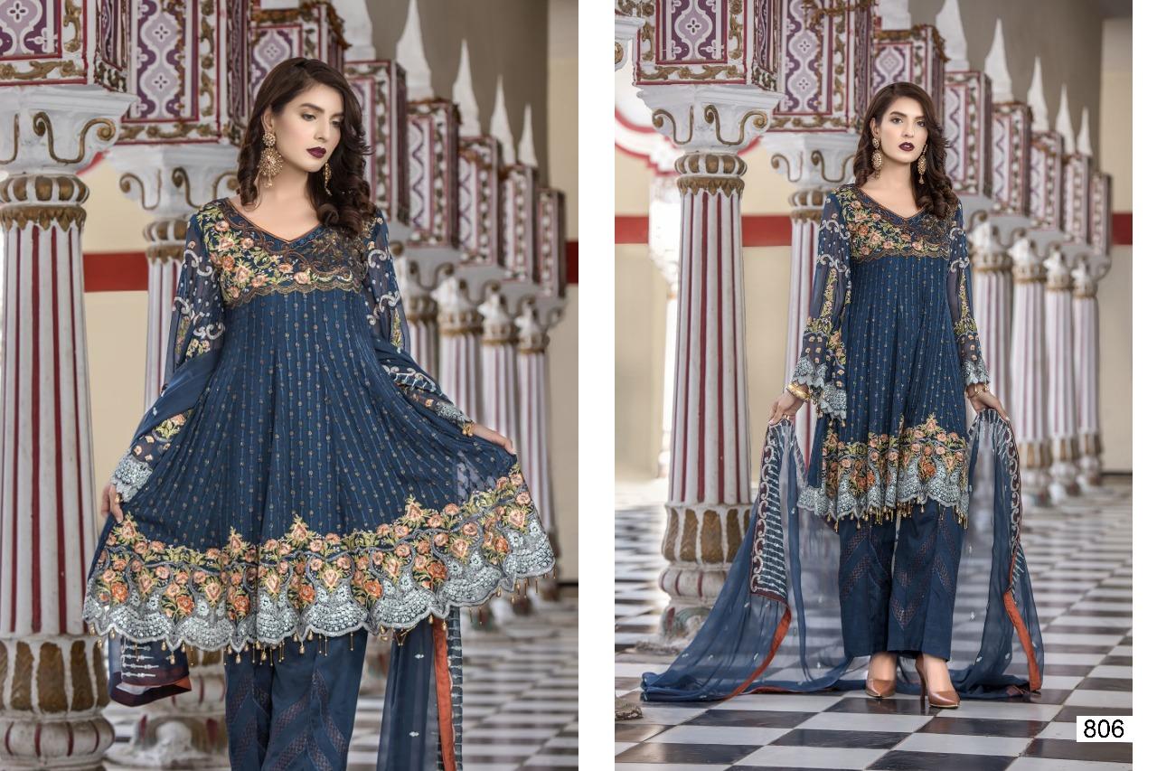 Samaira Fashion Maryam's 806