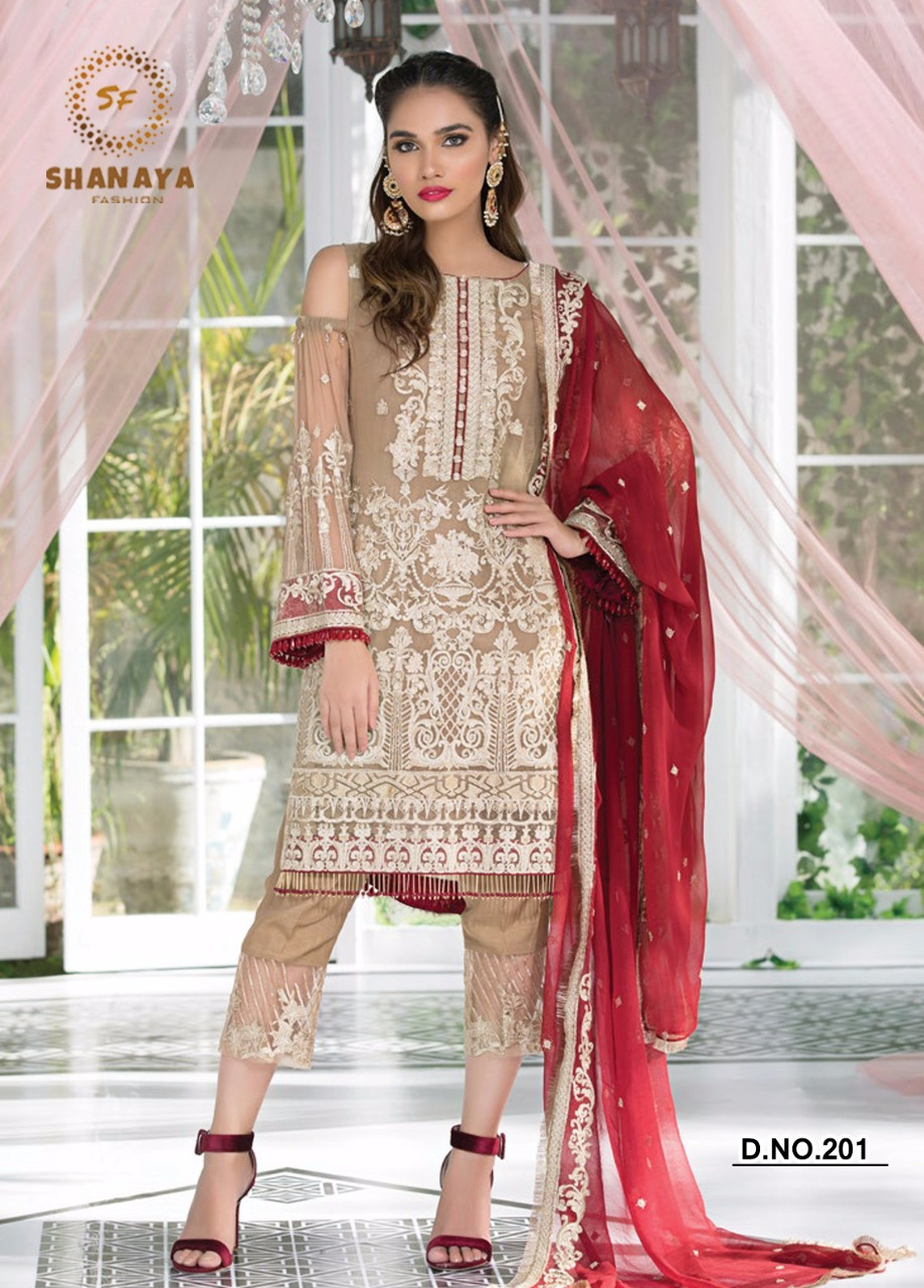 Rose Classic Suits By SHANAYA FASHION 5 TO 5 New Designs