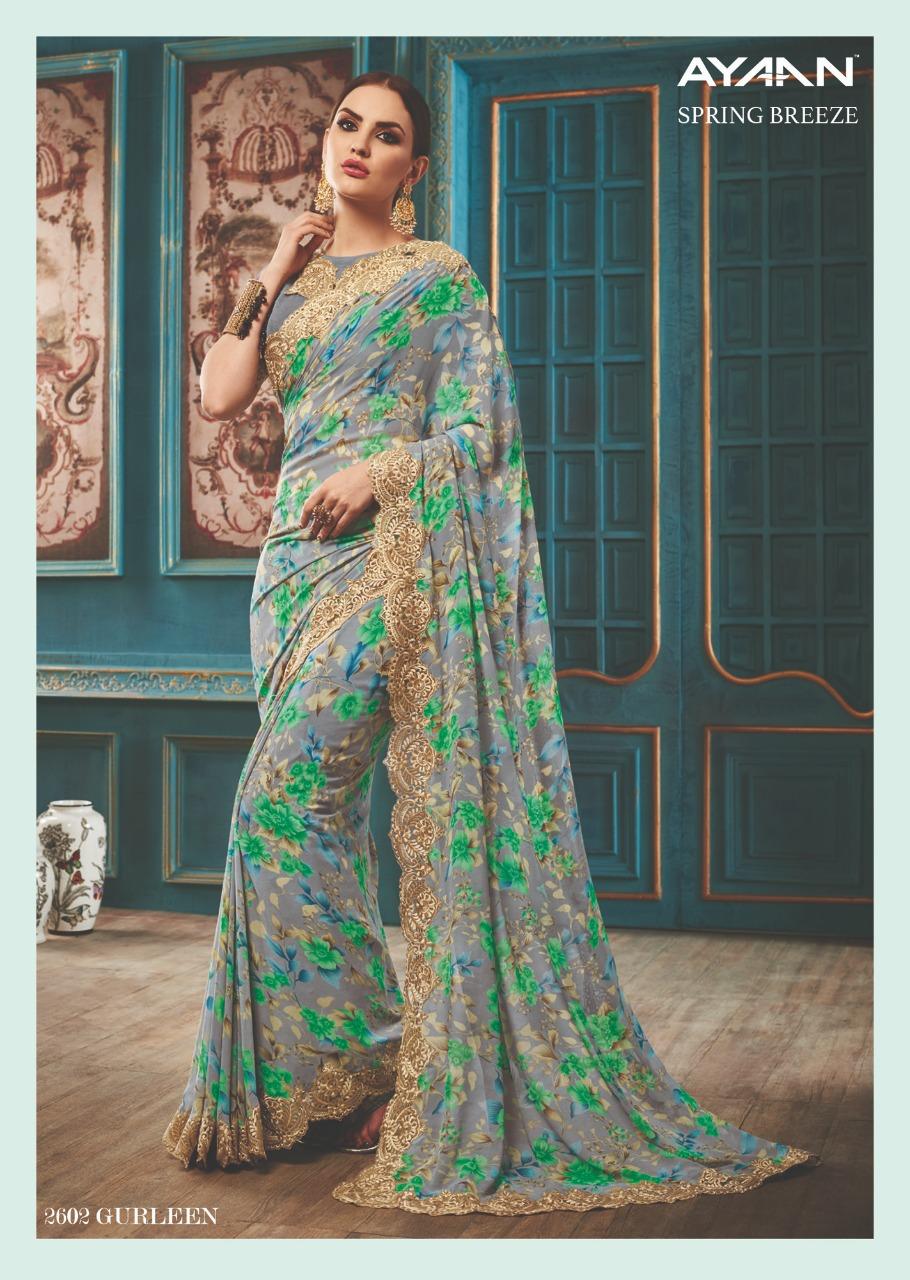 Vipul Fashion Spring Breeze Ayaan 2602