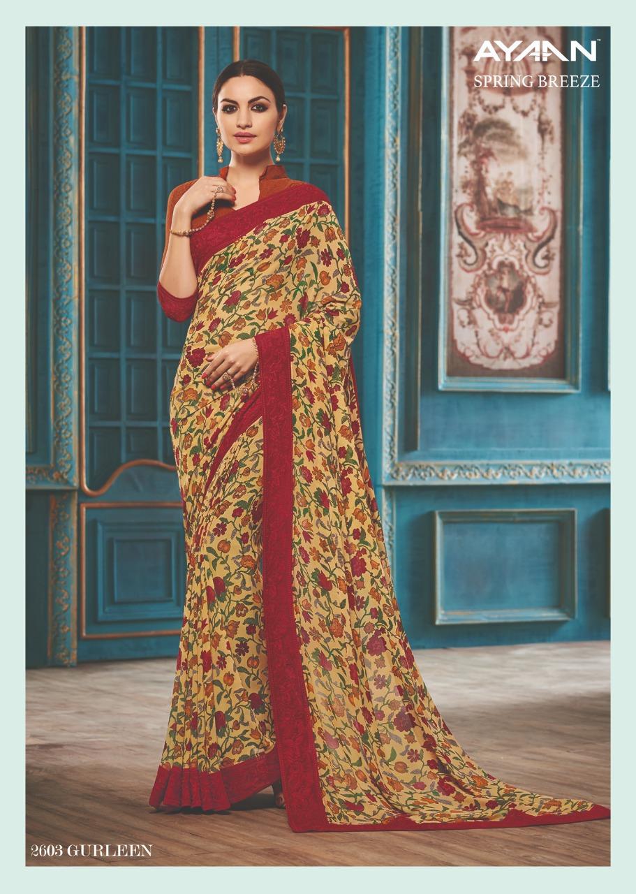 Vipul Fashion Spring Breeze Ayaan 2603