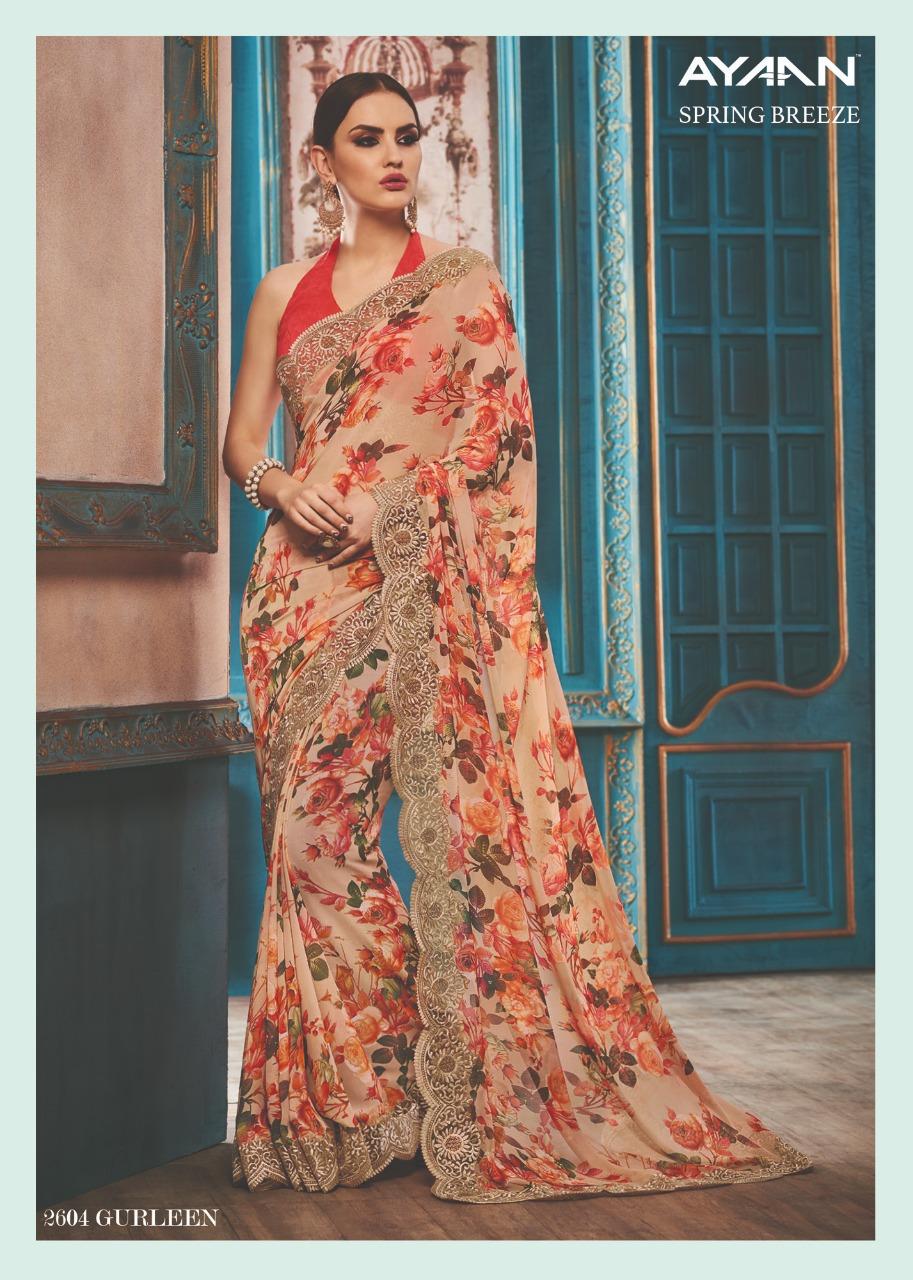 Vipul Fashion Spring Breeze Ayaan 2604