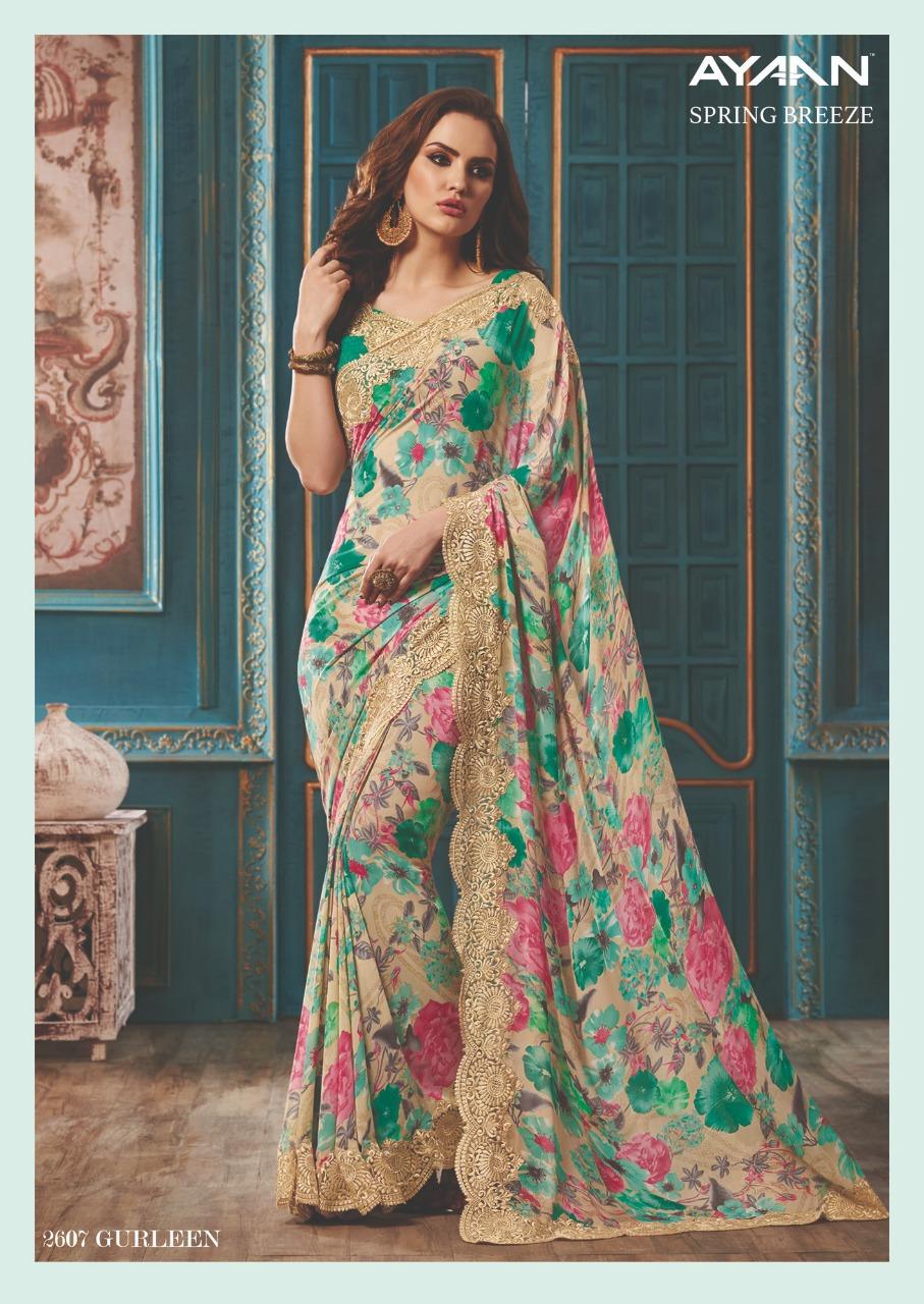 Vipul Fashion Spring Breeze Ayaan 2607
