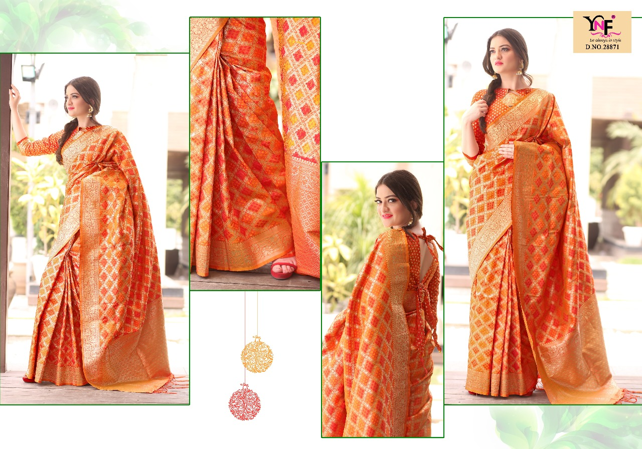 Yadu Nandan Fashion Indu Silk 28871