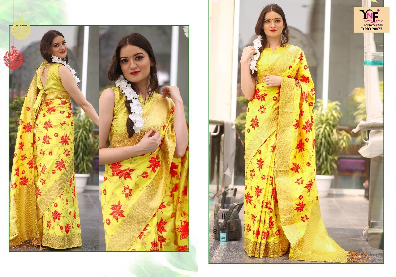 Yadu Nandan Fashion Indu Silk 28877
