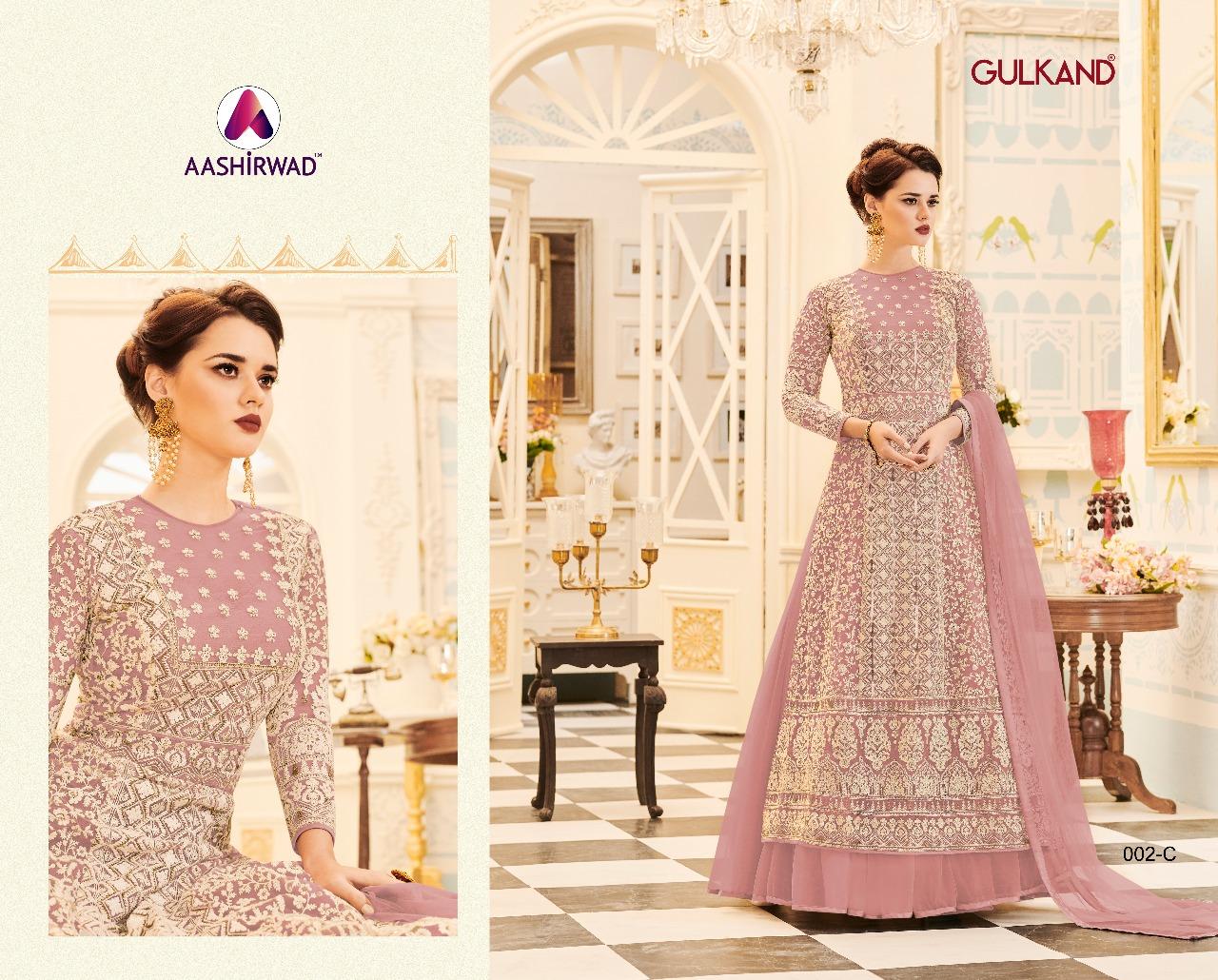 Aashirwad Creation Gulkand Veeda Premium 002C