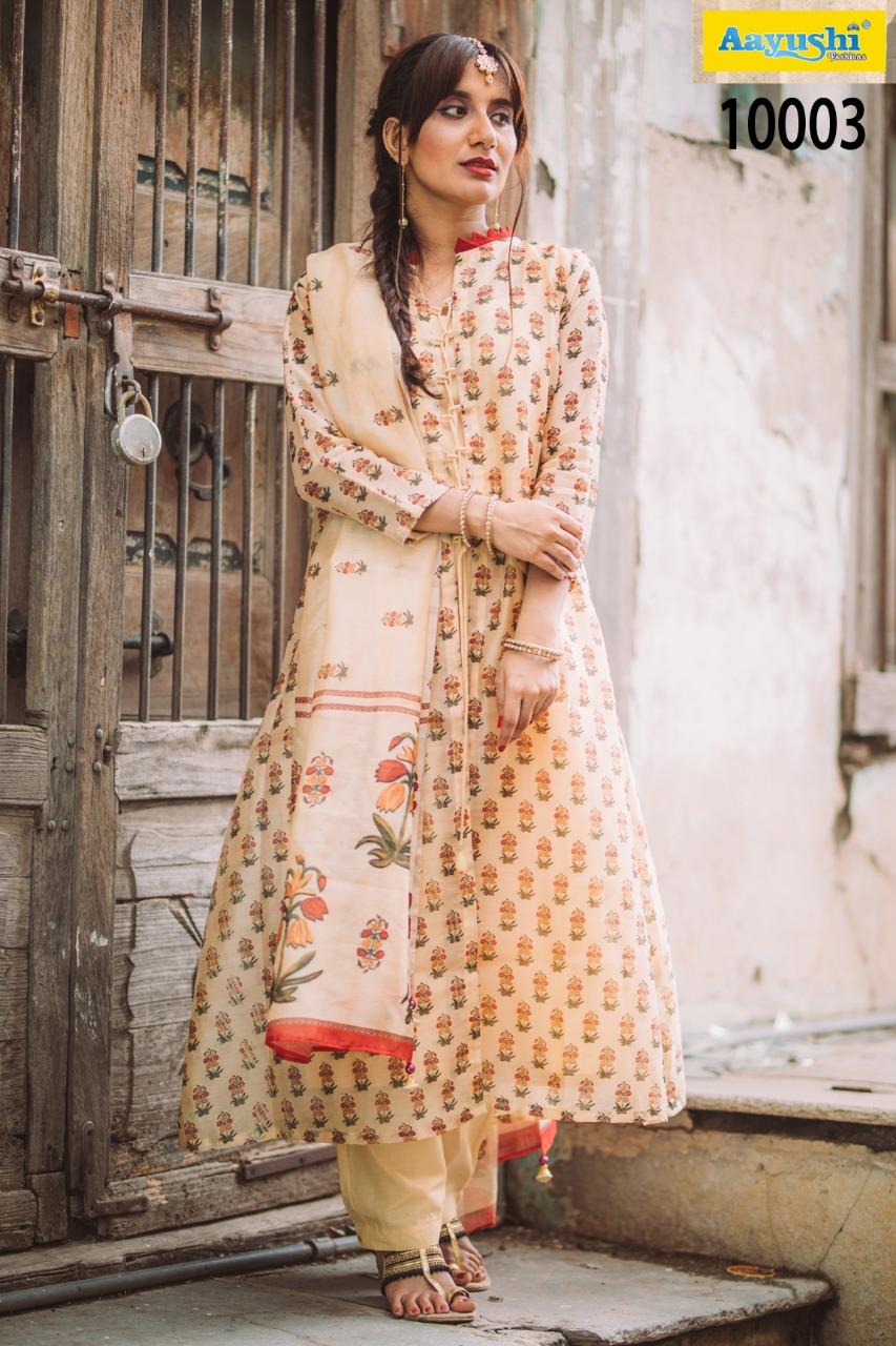 Aayushi The Chanderi Saaga 10003