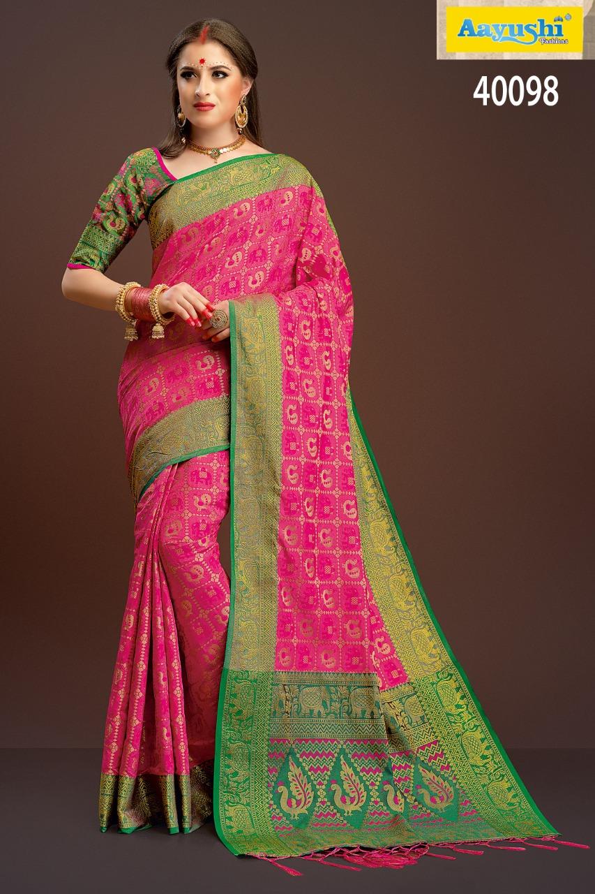 Aayushi Haute Couture 40098