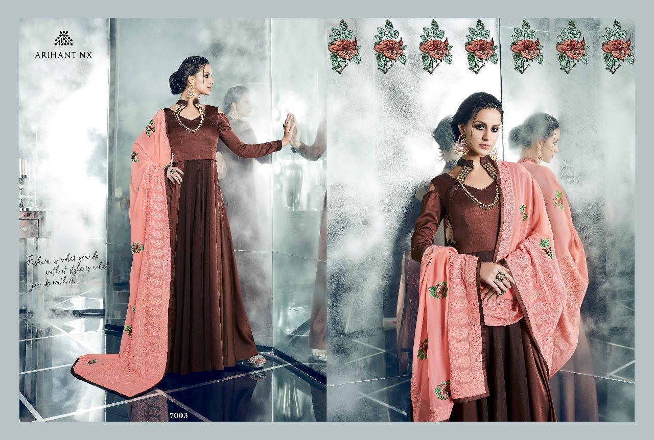 Arihant NX Cheery Heavy Dupatta 7003